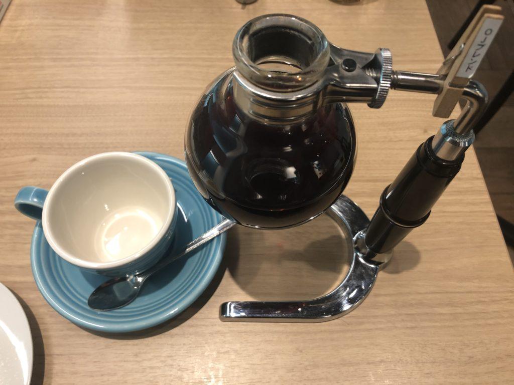 oj珈琲 サイフォン式コーヒー