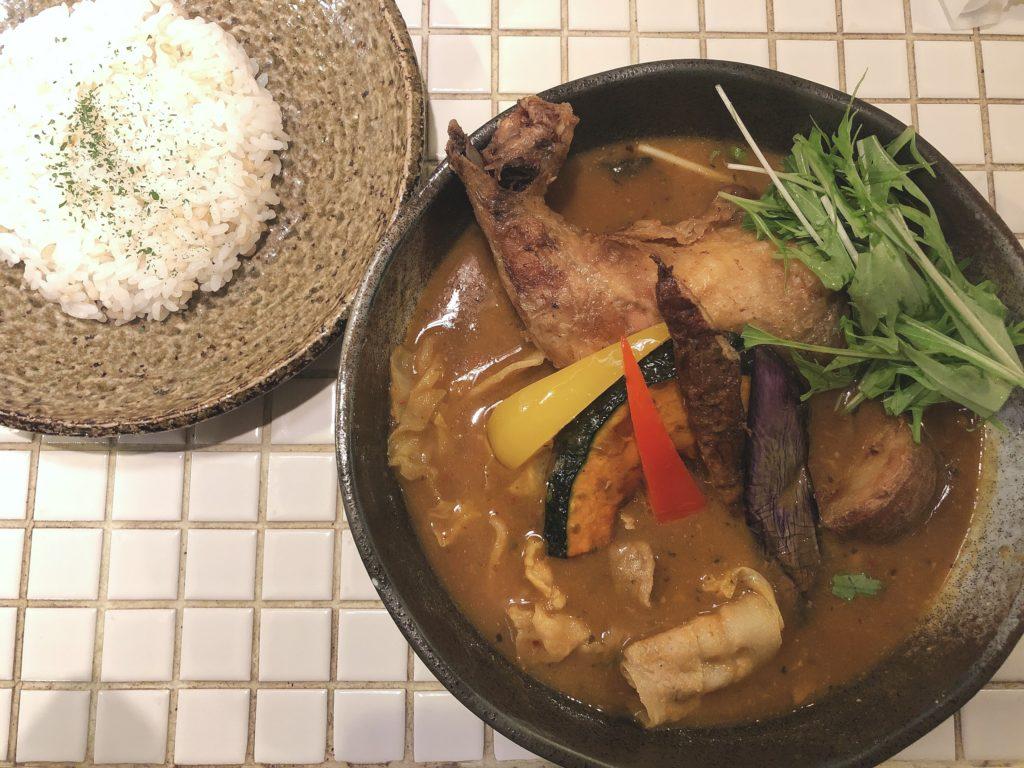 スープカレー サムライ チキン
