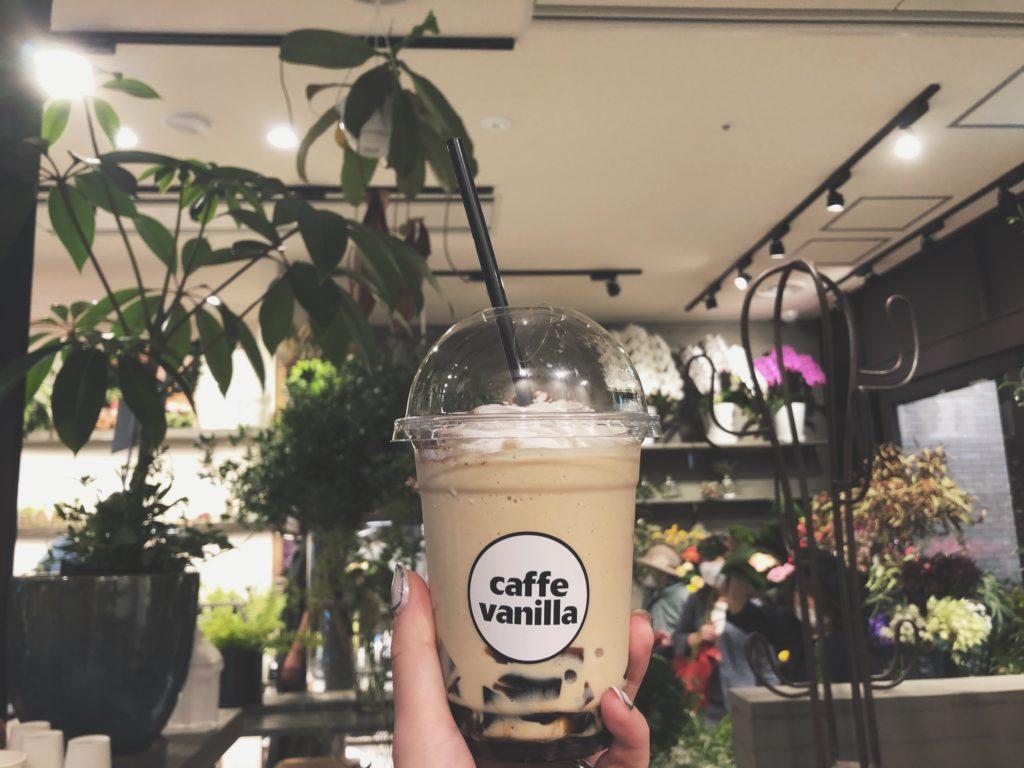 Caffe Vanilla コーヒージェリースムージー