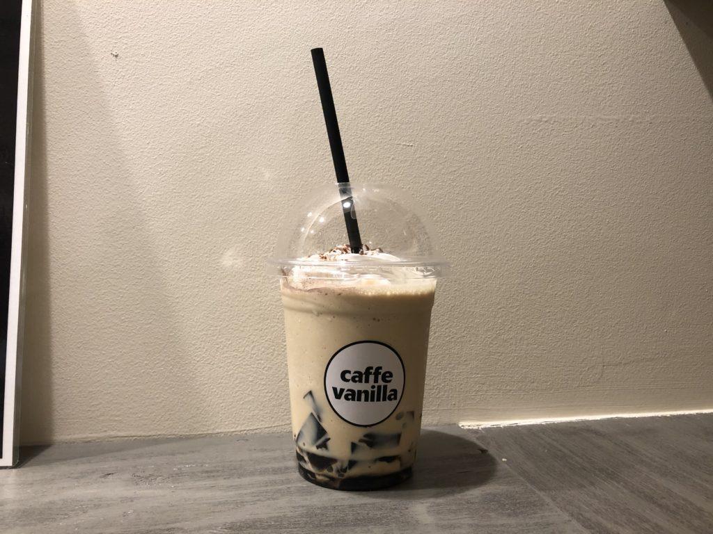 Caffe Vanilla コーヒージェリースムージー2