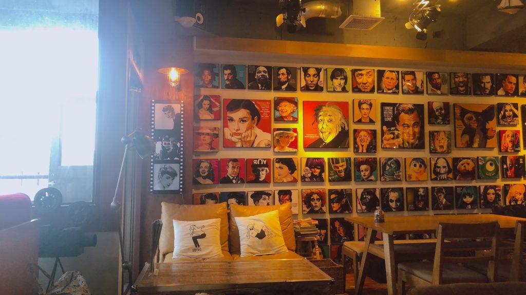 WORLD BOOK CAFE 内観