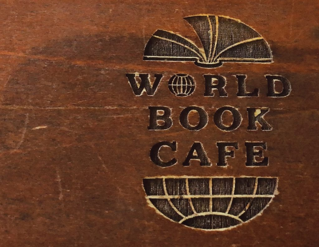 WORLD BOOK CAFE ロゴ