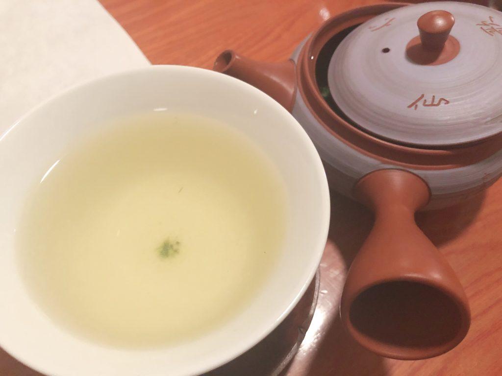 北海茶漬ぽっぽぷらす 本日の煎茶