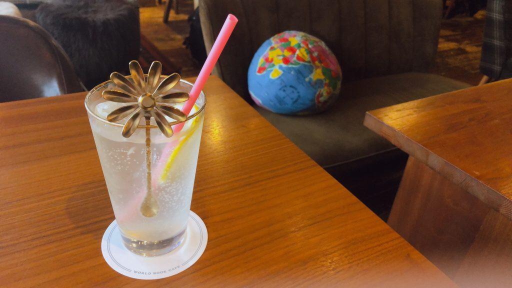 WORLD BOOK CAFE レモネード