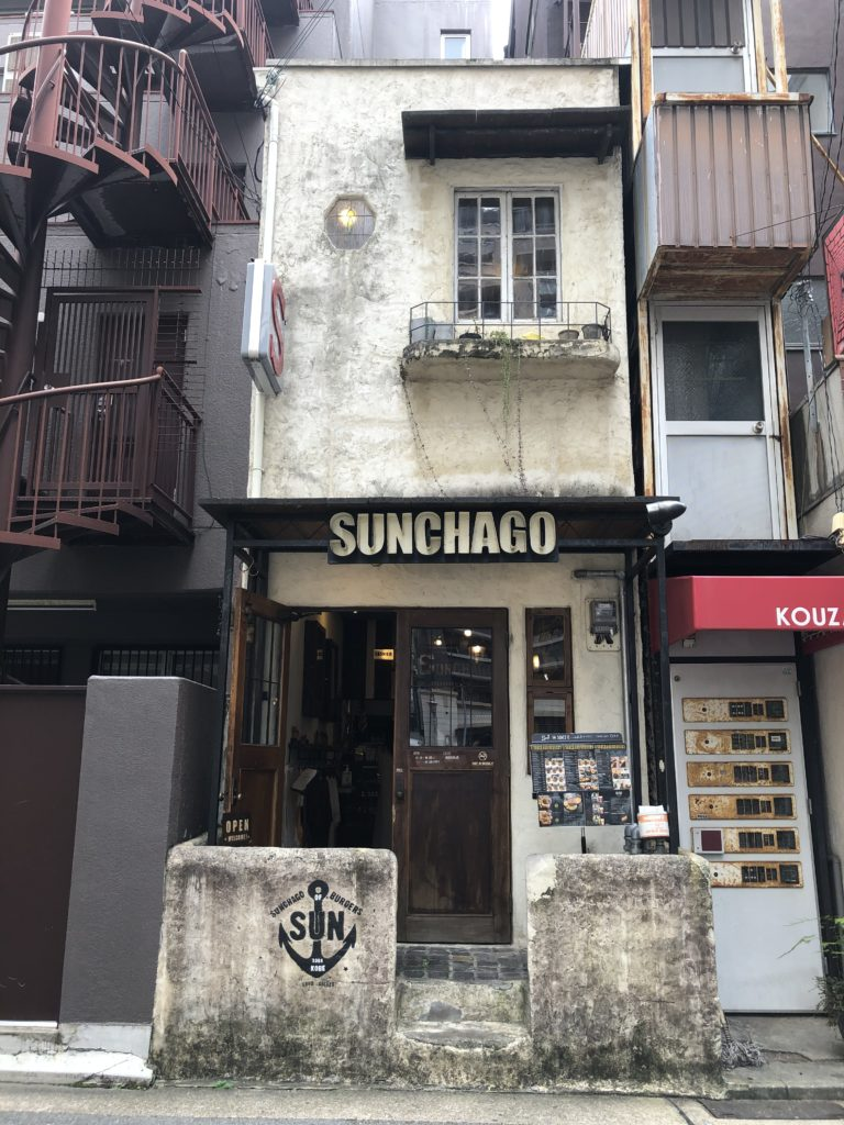 SUNCHAGO BURGERS 外観
