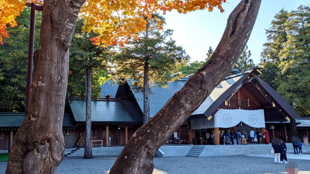 札幌 秋 紅葉